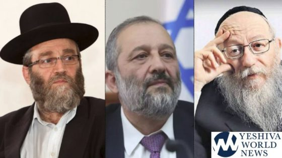 Charedi Parties Are Scared of Possible Election