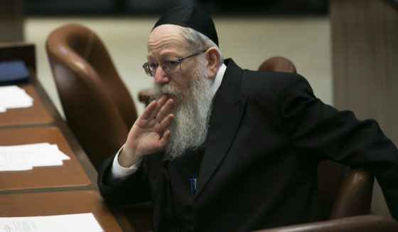 Litzman Denies Report He Acted Alone With Ultimatum To Netanyahu, No Coordination With Moetzes