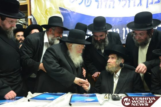 Photo Essay Part 5: Maran Hagaon HaRav Aron Leib Shteinman ZATZAL (Photos By Shuki Lerer – JDN)