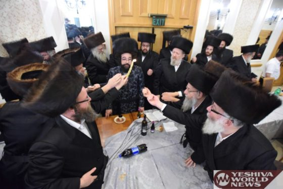 Photo Essay: Shabbos Bnei Heichala For Donors Of Mosdos Sanz In Israel, In Tzefas (Photos by JDN)