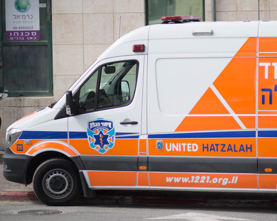 Woman Moderately Injured After Pesach Cleaning Fall