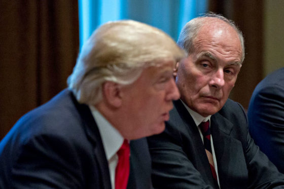 FAKE NEWS? Kelly Slams Report He Called Trump 'An Idiot'; Trump Says Media 'Going Crazy, Bonkers!'