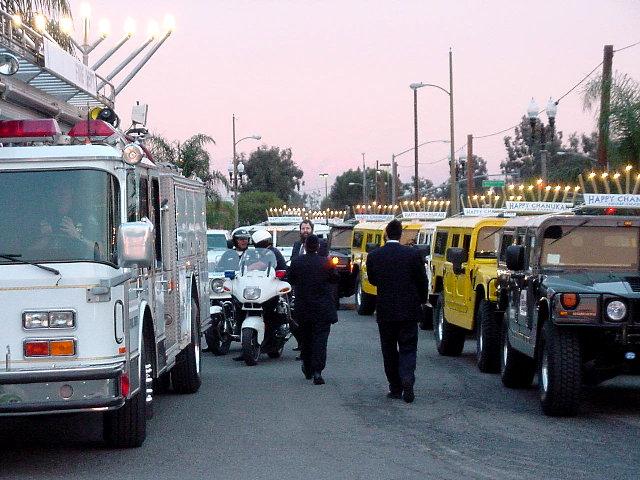 Hummer Hanukkah Parade