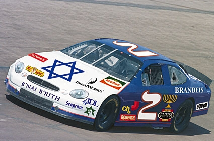 Jew-Sponsored Stock Car Booed Off Track